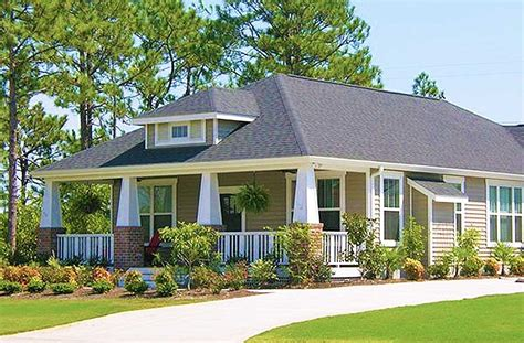 bungalow house plan  optional attached garage ph architectural designs house plans