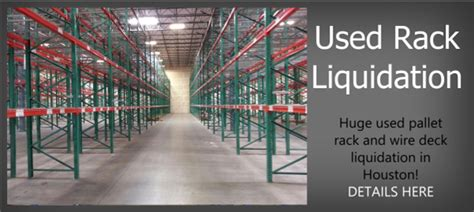 massey rack houston and louisiana in houston new and used pallet racking and warehouse rack