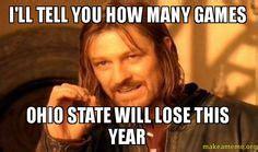 Ohio State Football Memes - buckeyes on pinterest ohio state football ohio state buckeyes and football