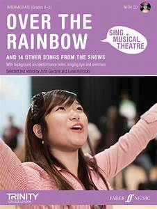Sheet Music : Sing Musical Theatre - Over The Rainbow + Cd ...