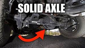 Solid Axle Suspension - Explained