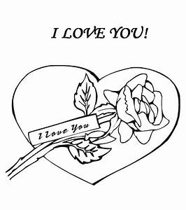 Coloring Pages I Love You - AZ Coloring Pages