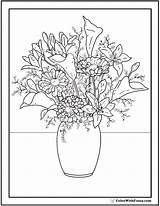 Coloring Flower Wildflower Pdf Floral Zinnia Wild Drawing Flowers Arrangement Printable Getdrawings Draw Snapdragon Daisies Zinnias Gem Lilies Getcolorings Border sketch template