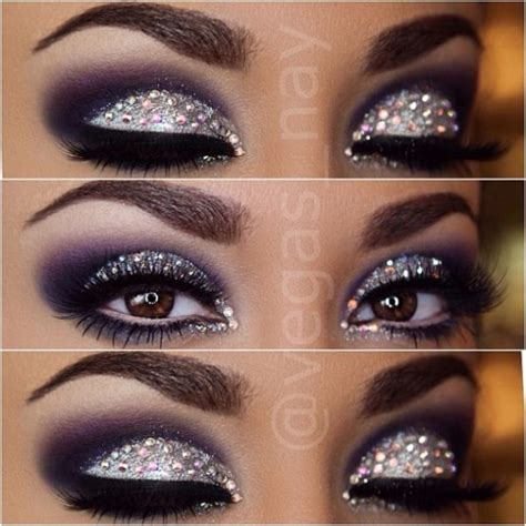 ways  apply glitter eye makeup  modish