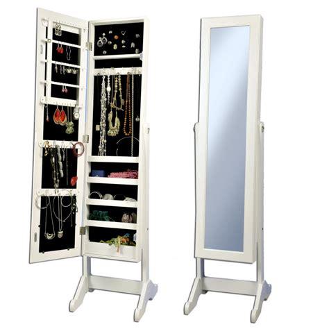 armoire a bijoux miroir miroir range bijoux casa chaios