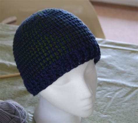 laughing willow ribbed brim tunisian hat