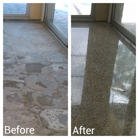before and after portfolio marble granite cleaning