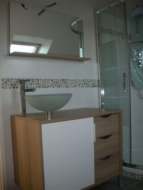 carrelage galets salle de bain castorama