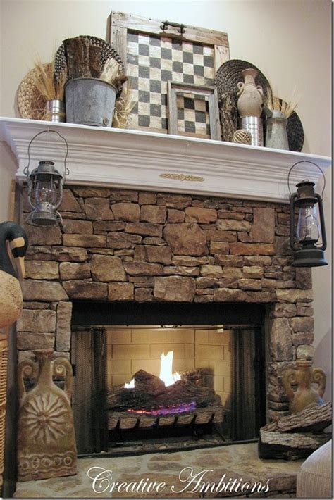 How To Build A Rustic Fireplace Mantel And Surround