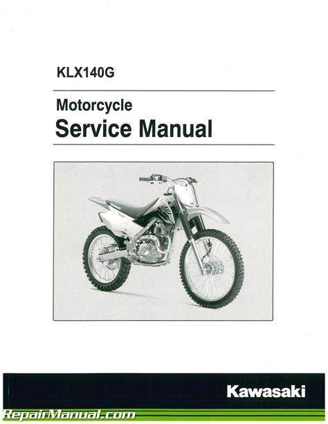 Kawasaki Motorcycle Service by 2017 Kawasaki Klx140g Motorcycle Service Manual