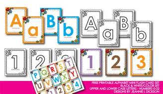honeybops free printable alphabet mini flash card set