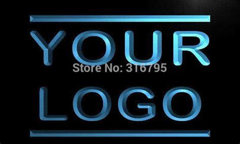best tm logo only sign design your own led light sign