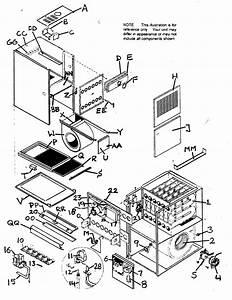 Icp Model Ntc6150kjg1 Furnace  Heater  Gas Genuine Parts