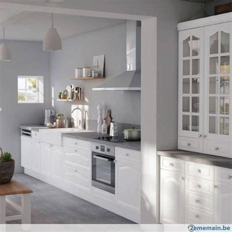 cuisine 2ememain meubles cuisine équipée dif coloris et dimentions prix