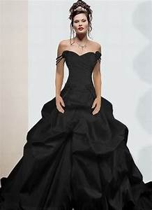off the shoulder sexy black wedding dresses ball gown hand With sexy black wedding dress