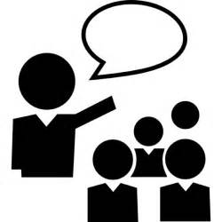 Student Talking Icon