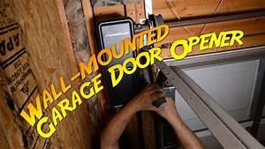 Installing A Wall-mount Garage Door Opener