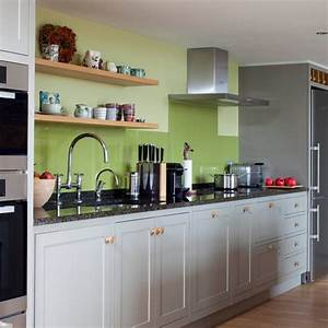 Kitchen: Beautiful Green kitchens Pictures Green Paint
