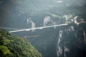 Glass Bridge China Longest in the World