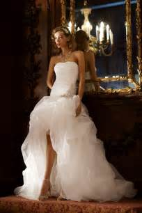 wedding dresses high low platinum touch events high low wedding dresses