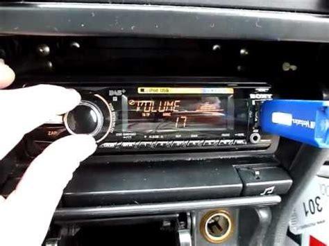 autoradio mit dab dab autoradio sony cdx dab700u mit usb stick