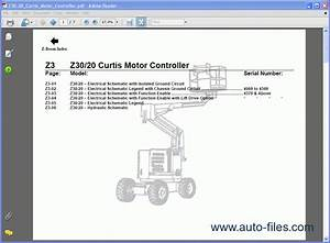 Terex Lifts Service Manuals  Repair Manuals Download
