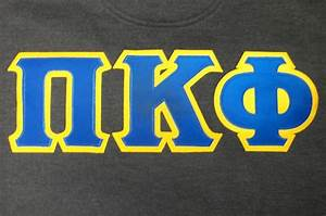 pin by top it off on greek designs in twill created by With pi kappa phi letters