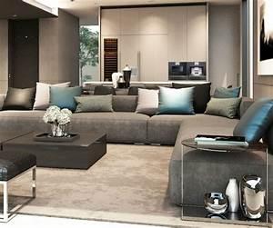 deco salon avec canape gris maison design sphenacom With couleur tendance pour salon 8 10 coussins pour un salon scandinave cocon de decoration
