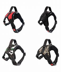 Pet Dog Adjustable Safety Harness Travel Strap Vest Dog