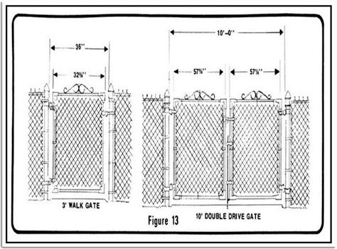fence sizes fascinating chain link fence gauges sizes for fence gate