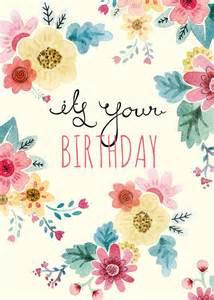 Pretty Happy Birthday Card