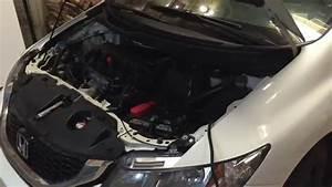 Honda Civic 9th Gen Fog Light Installation