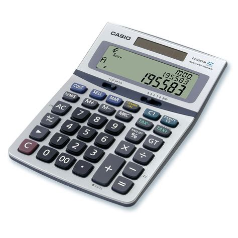 casio df 320tm calculatrice de bureau calculatrice casio sur ldlc