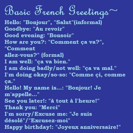 FRA: French Greetings by dATranslators on DeviantArt