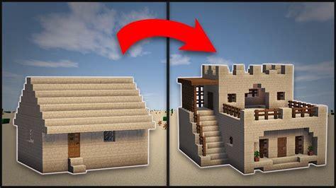 minecraft remodel desert village large house decoratorist