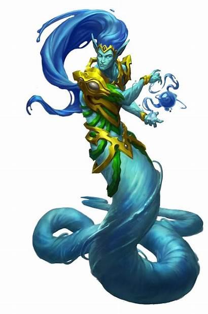 Fey Water Rpg Elemental Monster Fantasy Angel