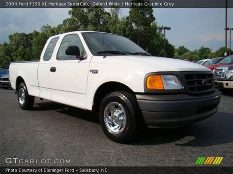 oxford white  ford  xl heritage supercab
