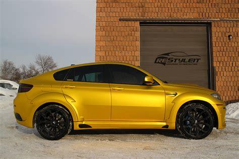 anodized yellow xm vehicle customization shop vinyl