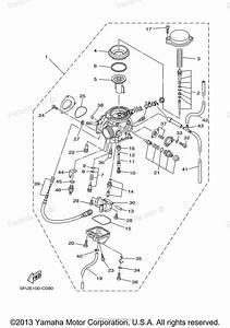 2001 Yamaha Big Bear 400 Carburetor Diagram