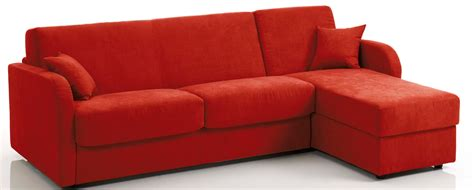 canap 233 d angle convertible bultex rev 234 tement tissu rouge