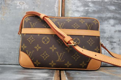 louis vuitton monogram canvas trocadero  shoulder