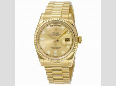 Rolex DayDate Champagne Dial 18K Yellow Gold President