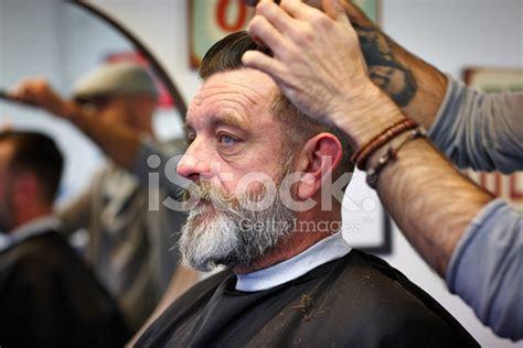 mature guy  haircut stock  freeimagescom