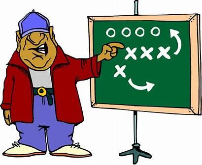 Coach Coaching Clipart Coaches Head Football Want
