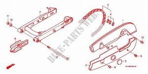 Swingarm Chain Case  2  For Honda Ex5 Dream 100  Electric