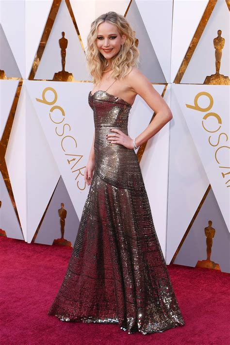 Jennifer Lawrence Attends The 90th Annual Academy Awards
