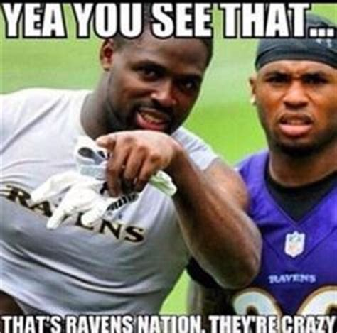 Baltimore Ravens Memes - 1000 images about ravens nation on pinterest baltimore ravens ray lewis and ed reed