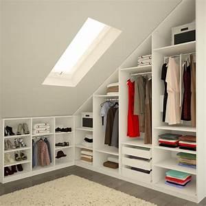 Begehbarer Kleiderschrank Dachschräge : kleiderschrank unter schr ge ankleide schlafzimmer schrank und dachboden ~ Eleganceandgraceweddings.com Haus und Dekorationen