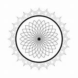Mandala Coloring Pages Kaleidoscope Printable Lotus Flower Domain Simple Adults Mandalas Colouring Sheets Christmas Pattern Abstract Easy Flowers Malvorlagen Floral sketch template