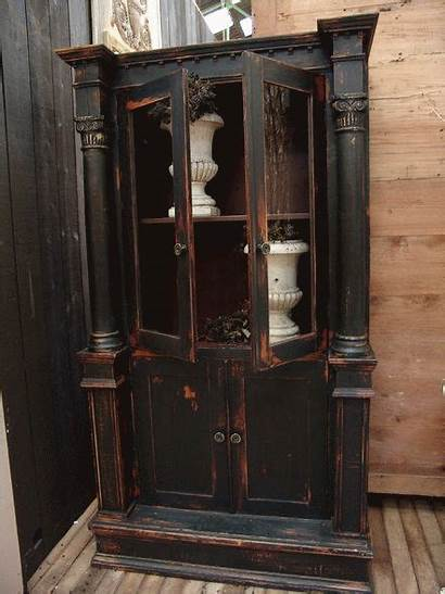 Paint Chalk Armoire Painted Bookcase Furniture Cream